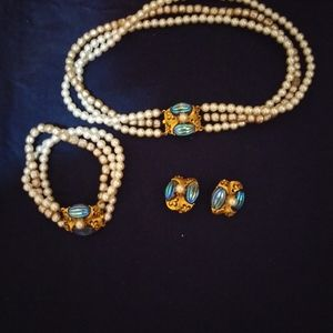 Jewelry - 3pc set Florenza(stamped)